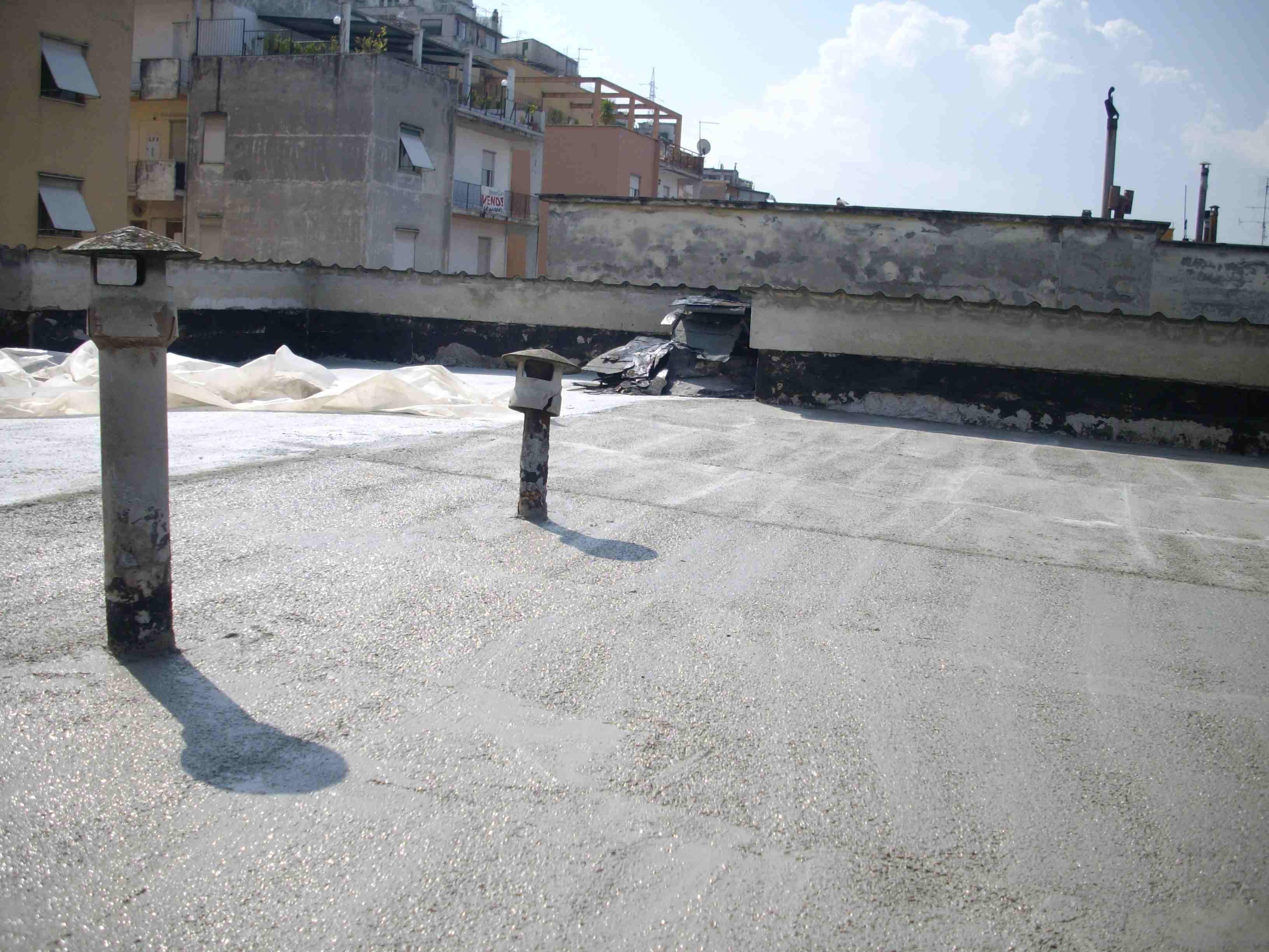 Rifacimento pavimentazione terrazzo condominiale a Tivoli - Lucidi e ...