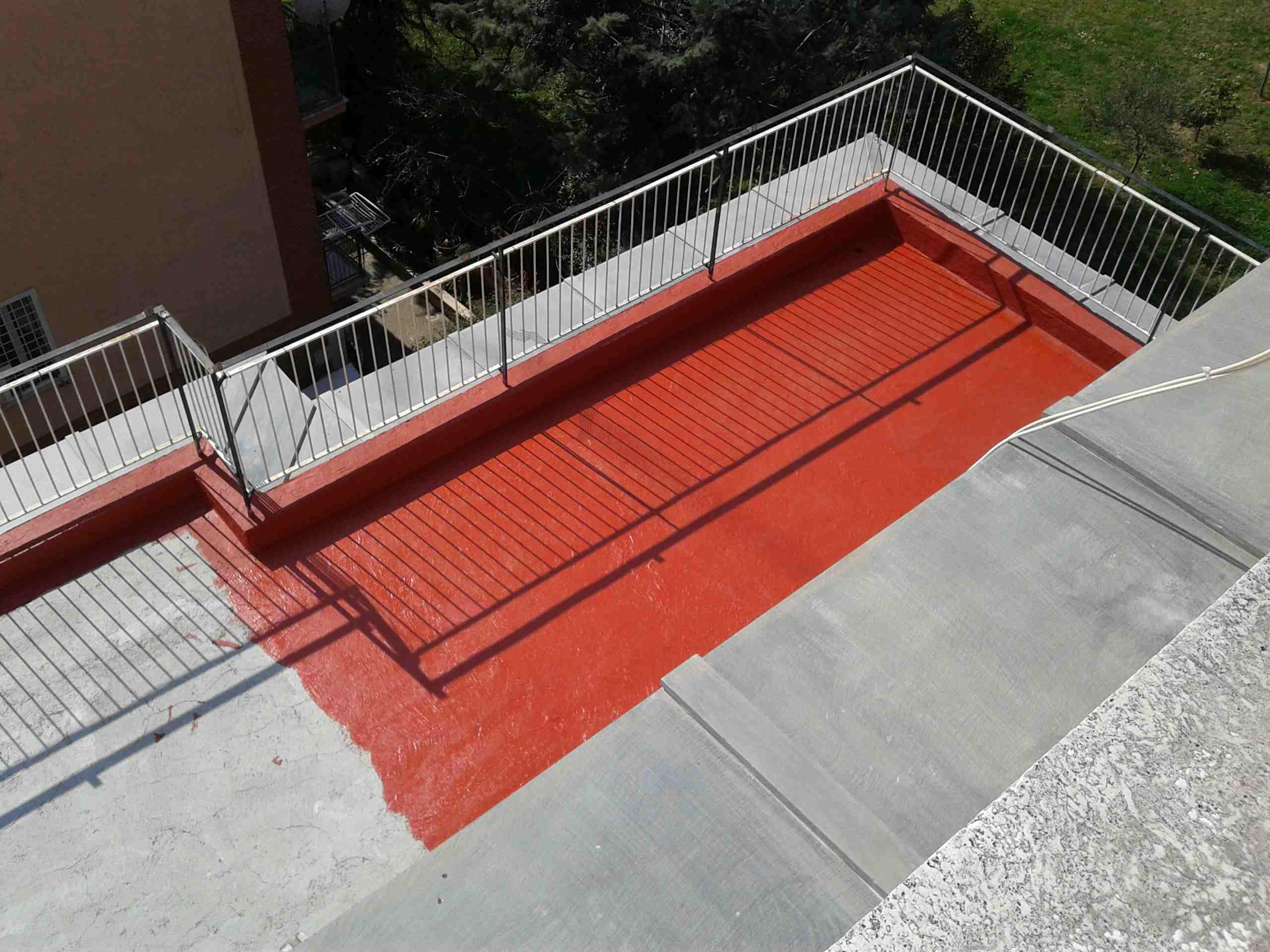 Rifacimento pavimentazione terrazzo condominiale a Roma - Lucidi e ...