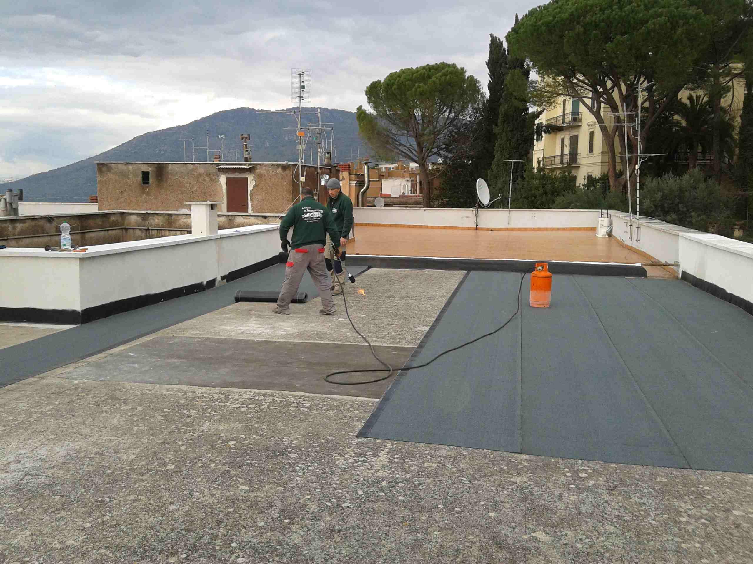 Rifacimento copertura terrazzo - Lucidi e Mastrantonio